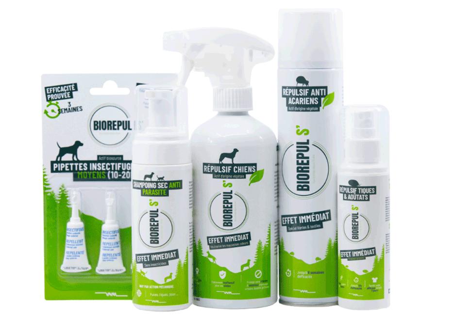 Gamme produits Biorépuls