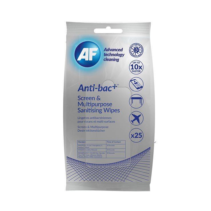 Abatout Lingettes désinfectantes anti-bactériennes marque blance